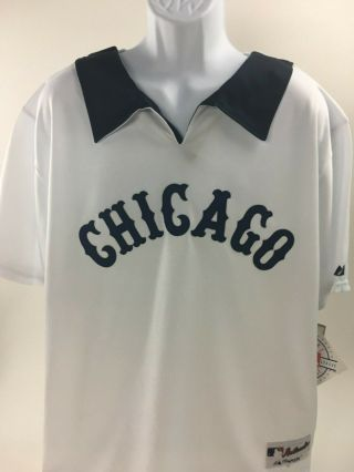 Carlton Fisk 72 Chicago White Sox 1977 Throwback Style Mlb Jersey - Size Xl 48