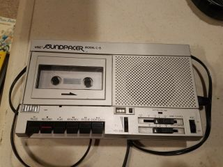 Vsc Soundpacer Model C - 5,  Tape Recorder