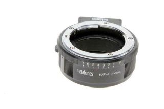 Metabones Nikon F Lens To Sony E - Mount Camera T Adapter