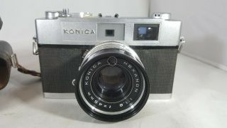 Konica Auto S2 35mm Camera With Tiffen Lenses For Worldofjuju