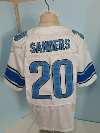 Barry Sanders 20 Detroit Lions Nike Jersey All Stitched Mens Sz 40 M