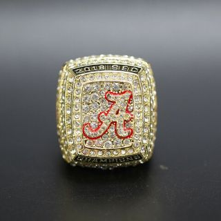 2018 Alabama Crimson Tide Sec College Football National Championship Ring