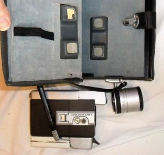 Canon C8 Zoom 318 Eight Movie Camera With Lens And Case