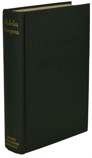 Alcoholics Anonymous Aa Big Book First Edition 4th Printing 1943 Green Cloth