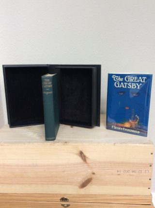 The Great Gatsby - F.  Scott Fitzgerald - 1st Edition 1st Printing.  1925