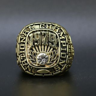 1979 Alabama Crimson Tide College Football Sec National Championship Ring