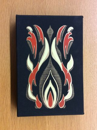 Fahrenheit 451 Signed By Ray Bradbury Easton Press Deluxe Limited Edition