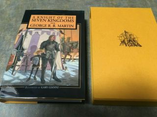 Knight Of The Seven Kingdoms George Rr Martin Signed Subterranean Press Limited