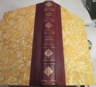 Thomas Aquinas Enarrationes/ 1566/ Catena Aurea/golden Chain On The Four Gospels