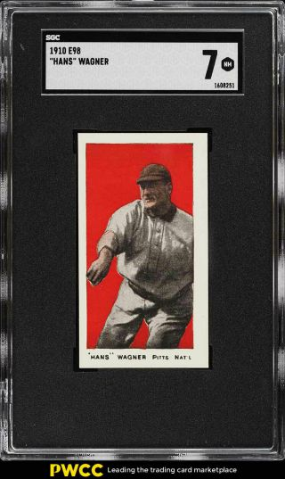 1910 E98 Set Of 30 Red Honus Wagner Sgc 7 Nrmt (pwcc)