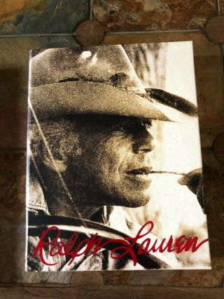 Ralph Lauren By Ralph Lauren Large Coffee Table Book With Sleeve