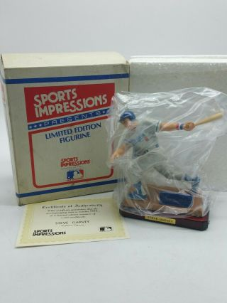 Sports Impressions Los Angeles Dodgers Steve Garvey Baseball Figure W G3