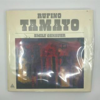 1974 Monograph Mexican Indian Modernist Artist Rufino Tamayo Primitive Painter