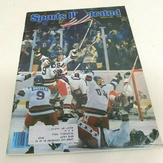 Vintage Sports Illustrated March 3,  1980 Usa Olympic Hockey Miracle On Ice